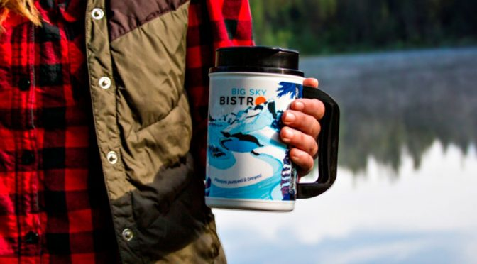 2017 Big Sky Bistro Original French Press Mug
