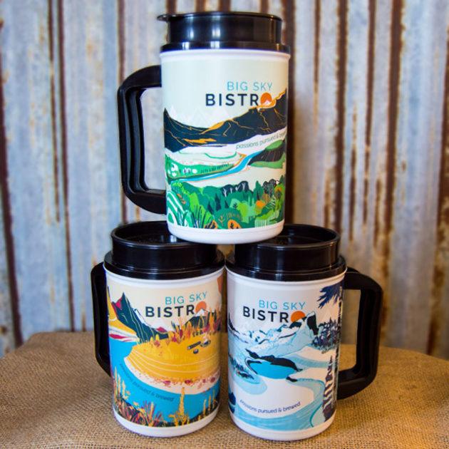 2017 Big Sky Bistro Original French Press Mug