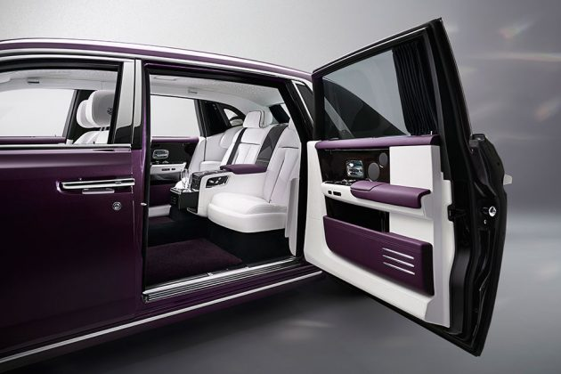 All-new Eight Generation Rolls-Royce Phantom Luxury Sedan