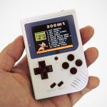 This GameBoy-inspired Handheld Gaming Device Packs A Cool 300 Titles