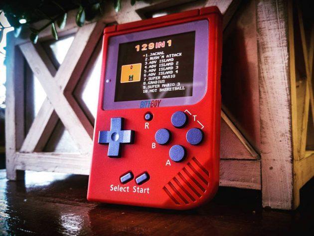 BittBoy Nintendo GameBoy-inspired Handheld Gaming Device
