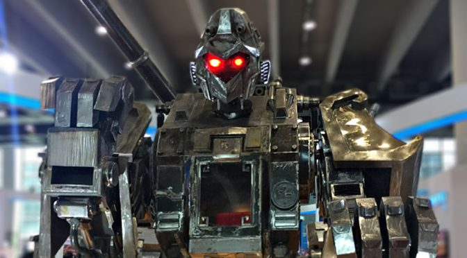 China's Giant Monkey Robot Wants To Take On America's MegaBot