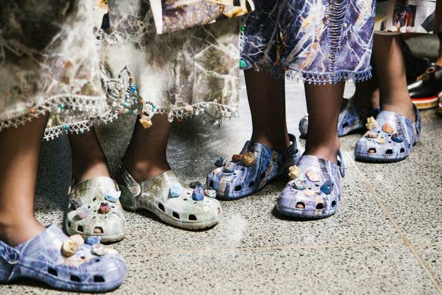 Christopher Kane x Crocs Multi Stone Clog Sandal