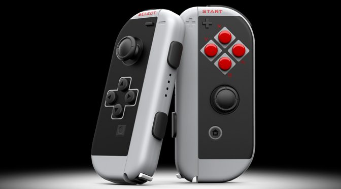 ColorWare 'NES' Joy Con, Colored Switch And Wolfenstein Consoles