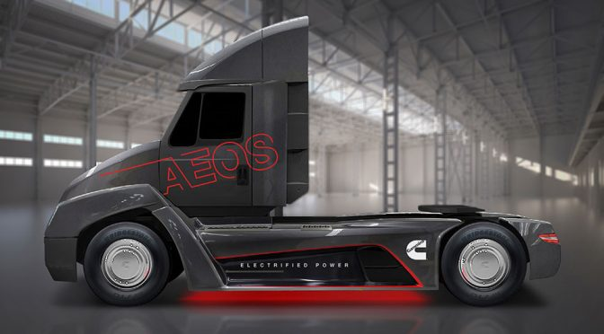 Cummins All-Electric Powertrain Concept Truck
