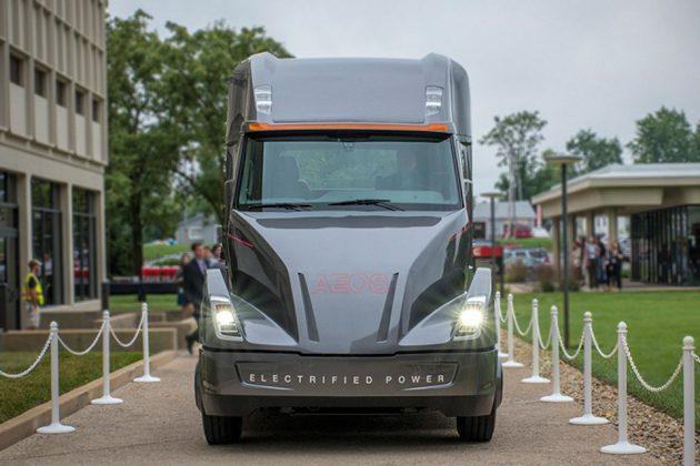 Cummins All-Electric Powertrain Concept Truck