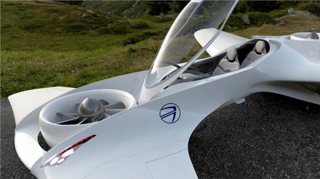 DeLorean DR-7 VTOL Personal Air Transport by DeLorean Aerospace
