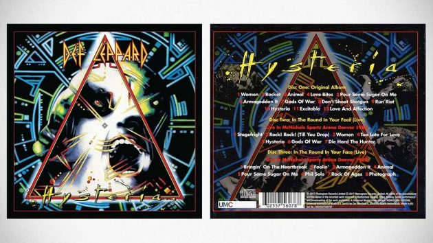 Def Leppard 30th Anniversary Deluxe 3CD Hysteria (Remastered 2017)