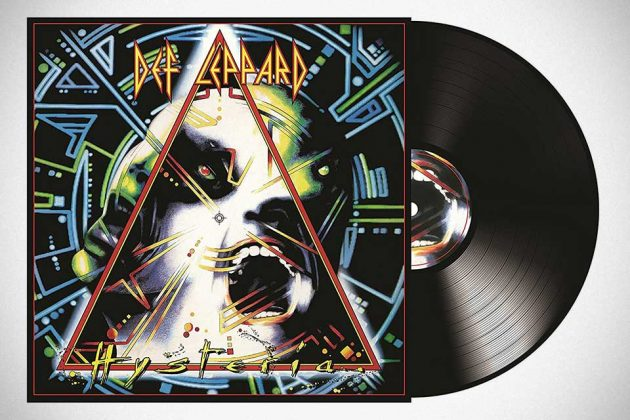 Def Leppard 30th Anniversary Black Double Vinyl LP Hysteria (Remastered 2017)