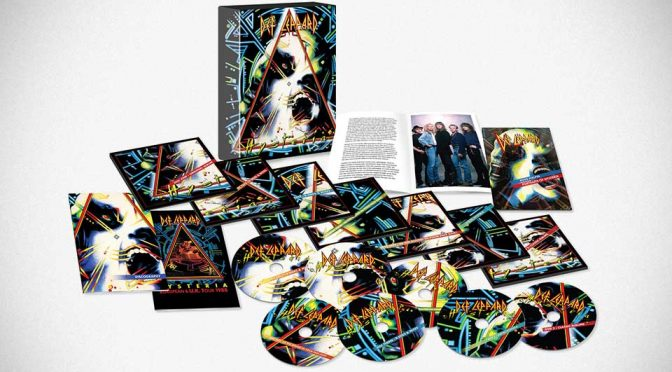 Def Leppard Releases 30th Year Multi-Format <em>Hysteria</em> (Remastered 2017)