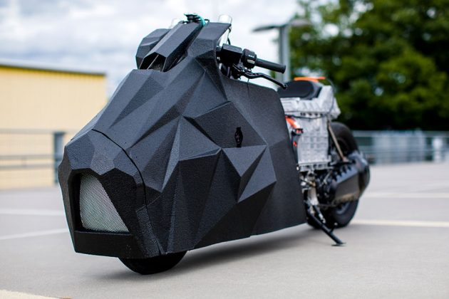 E-LisaBad Custom Electric Maxi-scooter C Evolution by Rolf Reick