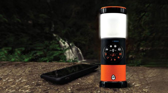 EcoLantern Bluetooth Speaker Outdoor Lantern by ECOXGEAR