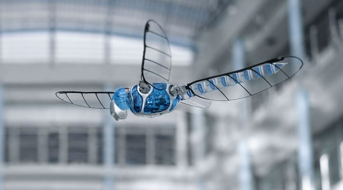 Festo BionicOpter Dragonfly-inspired Ultralight Flying Object