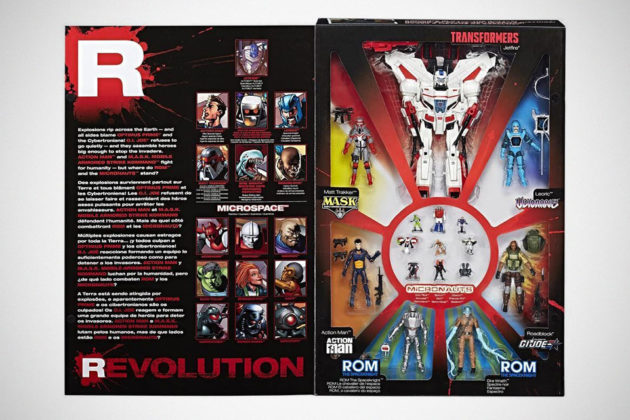 Hasbro IDW Revolution 16-Figure Box Set: Convention Exclusive