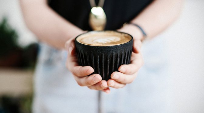 Believe Or Not, This Coffee Cup Is Literally Made Out Of Coffee
