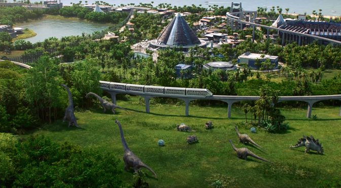 Jurassic World Game Lets You Build And Manage A Dinosaur Theme Park