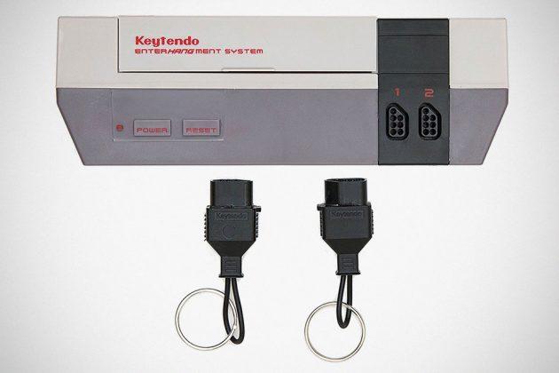 Keytendo Nintendo-inspired Video Game Console Keyholder Rack