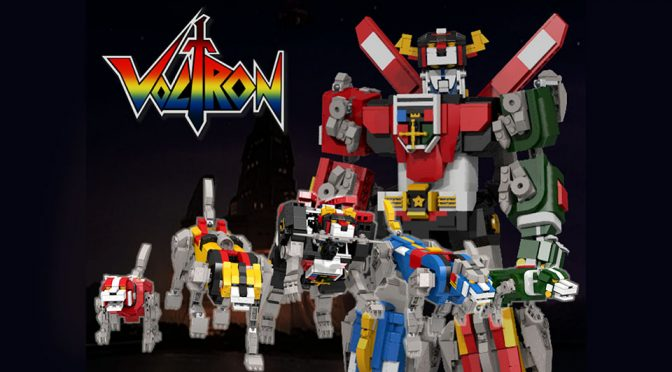 LEGO Ideas Voltron Defender of the Universe Transformable Set