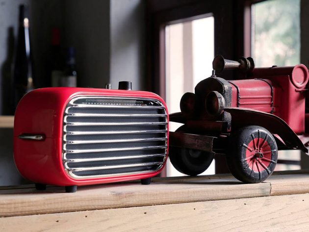 Lofree Poison Retro Bluetooth Speaker & Radio