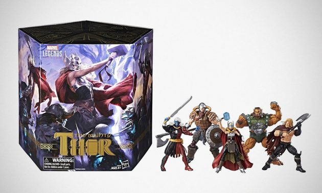 Marvel Legends 6-inch Series Battle for Asgard 5-pack