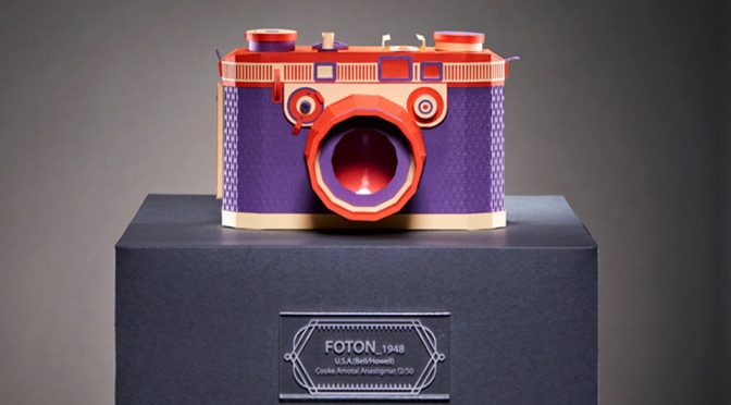 These Intricately Folded Paper Classic Cameras Are Absolutely Awesome!