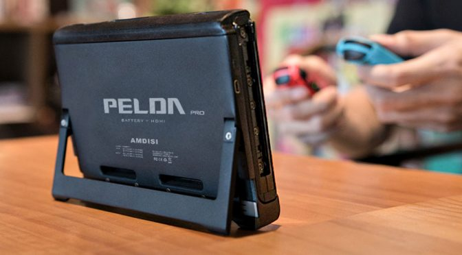 PELDA Pro Makes Nintendo Switch Dock Obsolete, Extends Battery Life