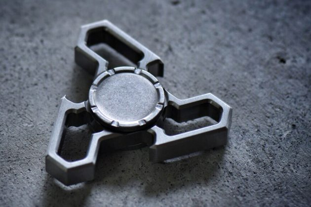 Pangea Designs Delta Prime Fidget Spinner Bottle Opener
