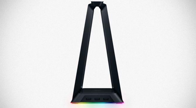 Razer Quietly Announced A Chroma-enabled Headphone Stand/USB Hub