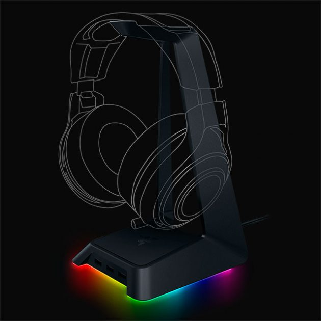 Razer Base Station Chroma Headphone Stand and USB Hub