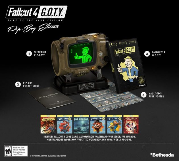 Game of the Year Fallout 4 Pip-boy Edition by Bethesda
