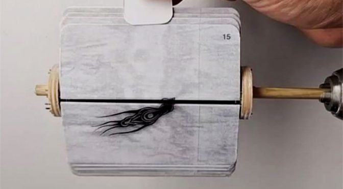 Artist Show You How To Use A Power Drill To Create Interesting Animation