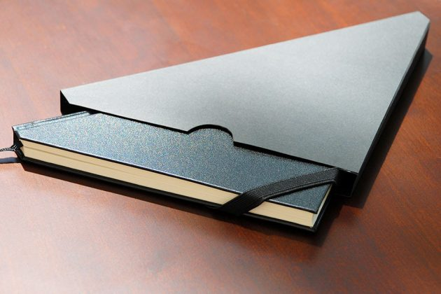 Sirius Design Co. SLICE Breaks Convention With Triangular-shape Notebook