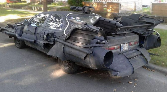 If Bruce Wayne Ever Went Broke, This Will Probably Be His Crimefighting Ride