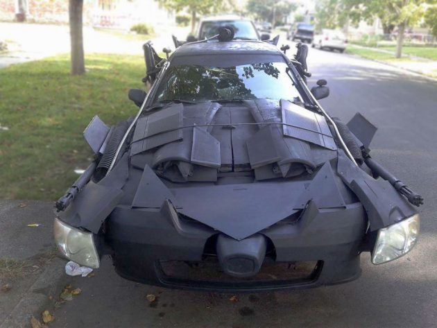 Someone Turned A Toyota Camry Into A Batmobile