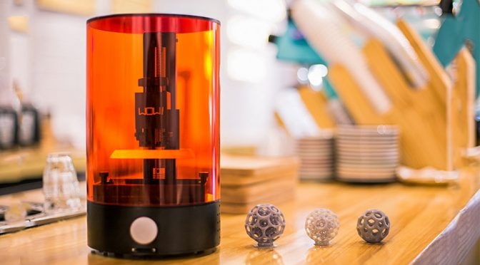 SparkMaker Is The Most Affordable Desktop SLA 3D Printer