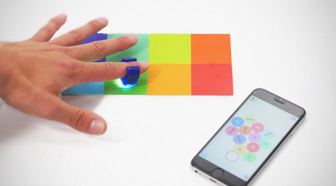 Specdrums Put Music Creation At Your Fingertips, Turning Colors Into Sound