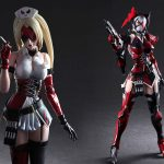 "Play Arts Kai DC Variant Harley Quinn Figure Screams ""I Am An Evil Nut Job!"""