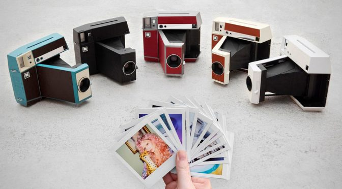 Instant Photography Goes Analog With Lomo'Instant Square Camera