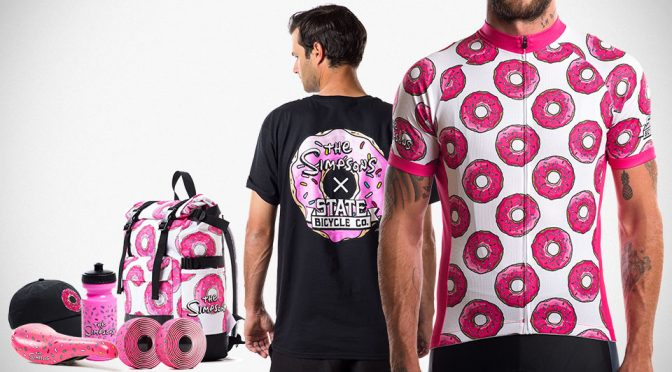 State Bicycle Co. Teamed Up With <em>The Simpsons</em> Some Donut-<em>ish</em> Accessories