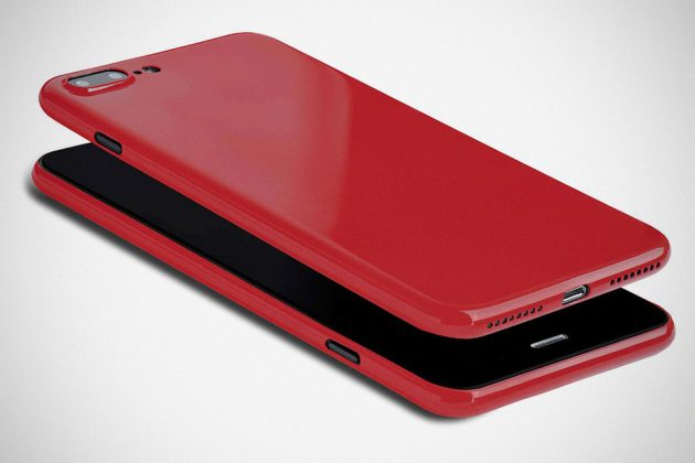 Thin iPhone Case in Glossy Jet Red by totallee