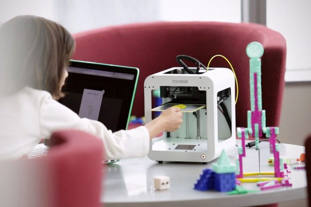 Toybox Affordable 3D Printer Just For Kids