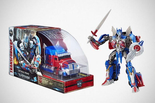 Transformers: The Last Knight Voyager Class Optimus Prime