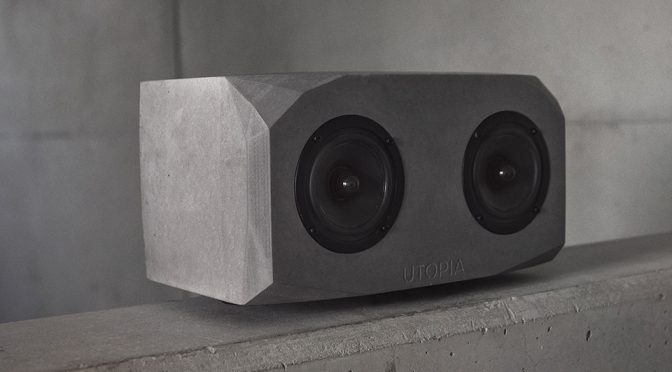 Titan Concrete Bluetooth Speaker Is Set To Deliver 60W Of Audio With Style