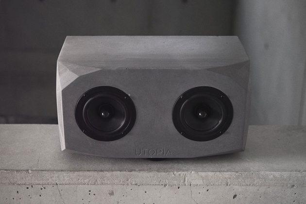 Utopia Audio Titan Handmade Concrete Bluetooth Speaker