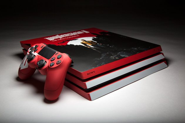 Wolfenstein-themed Playstation 4 Pro for Bethesda