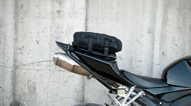 12L Motorcycle Tail Bag: A Storage That Won't Mar The Look Of Your Ride
