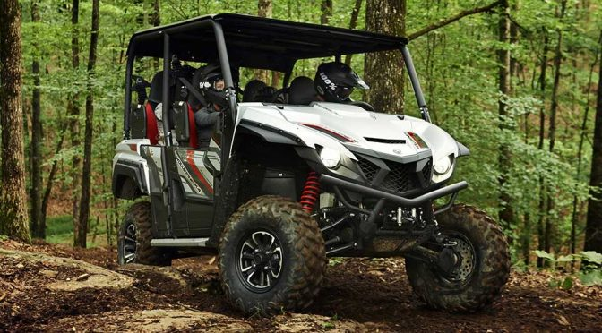 Yamaha's New Sport Vehicle Seats Four In A Very Compact Form