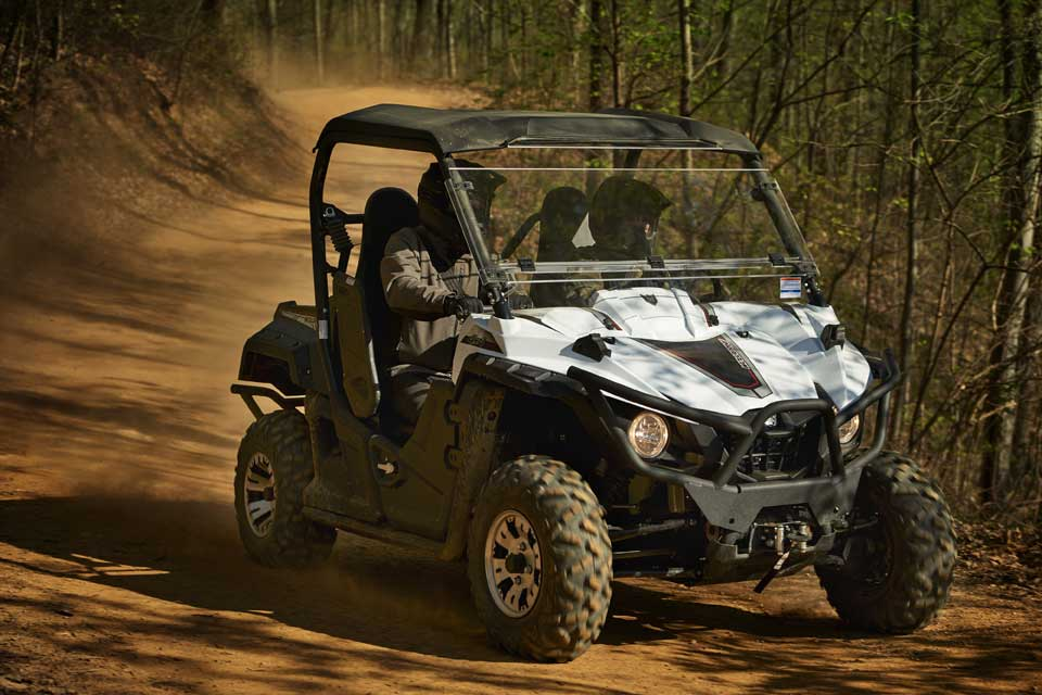 Yamaha s new sport vehicle seats four in a very compact for Yamaha wolverine x4