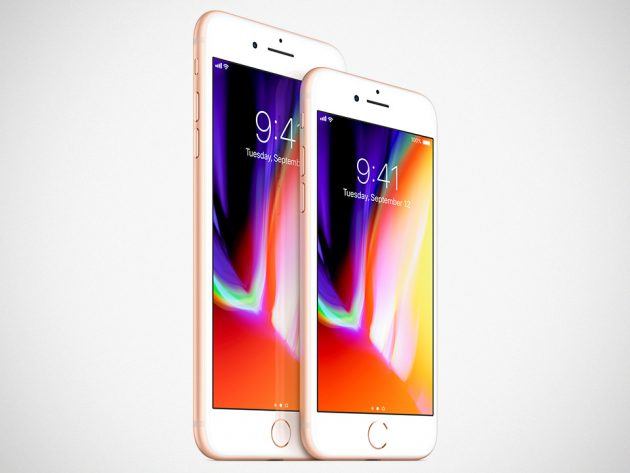 Apple iPhone 8 and 8 Plus Smartphones