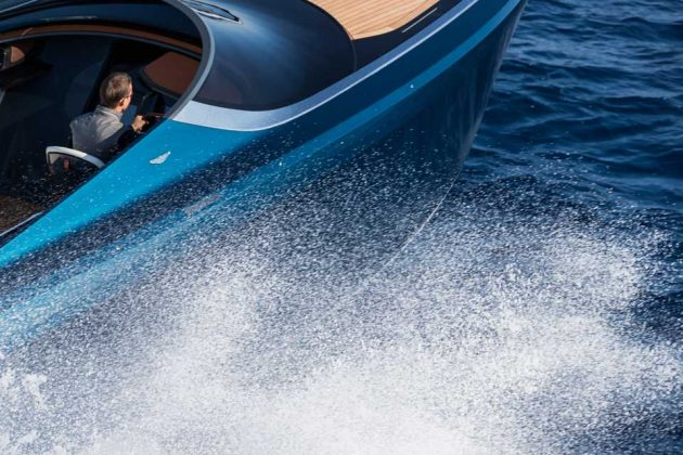 Aston Martin AM37S Powerboats by Quintessence Yachts